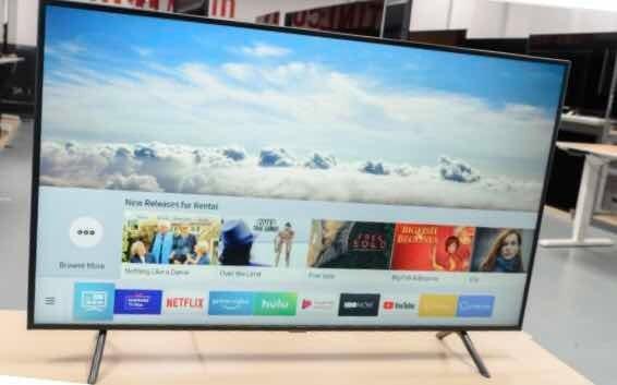 Smart Tv 4k Ultra Hd Samsung Série 7100 Led 50 Polegadas