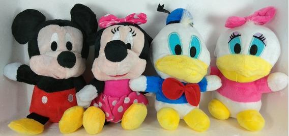 Mickey Mouse Minnie Pato Donald Margarida Disney Pelúcias