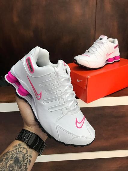 Tênis Nikeshox Nz Feminino (leia A Descrição)