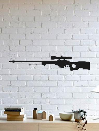 Imagem 1 de 2 de Quadro Decorativo Parede Jogos Awp Cs:go 90cm