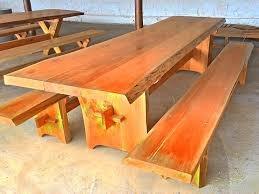 Mesas Rústicas.
