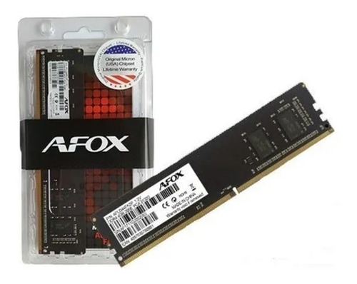 Memória Afox 8gb Ddr4 2666mhz Afld48fh1p