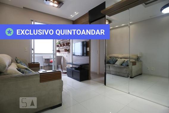 Apartamento No 12º Andar Mobiliado Com 2 Dormitórios E 1 Garagem - Id: 892947923 - 247923