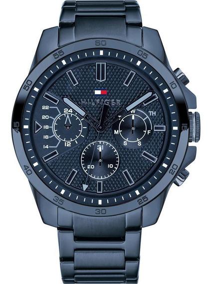 Relógio Tommy Hilfiger Aço Azul 1791560