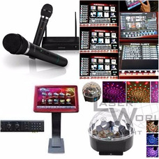 Alquiler Karaoke Modelo Tactil, 2 Hs $ 1200- 4 Hs $1500