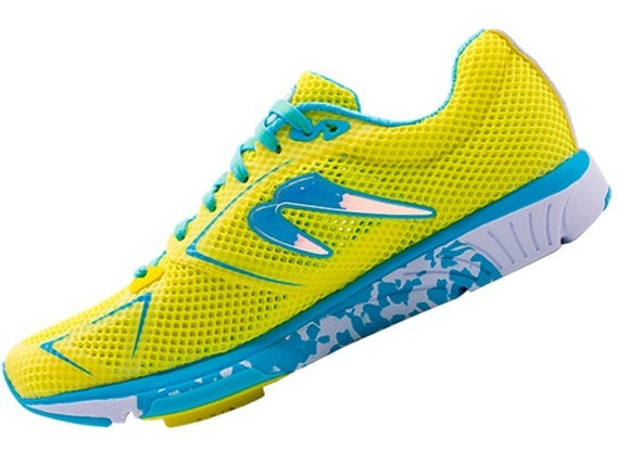 Tenis Correr Newton Running Distance S 8 Mujer Yellow/blue