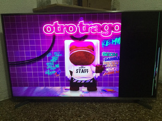 Smart Tv Hisense 55 4k Uhd - Pantalla Rota