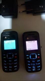 Celular Nokia 1208 E 1208b - Peças Ou Restáuro - Funcionando