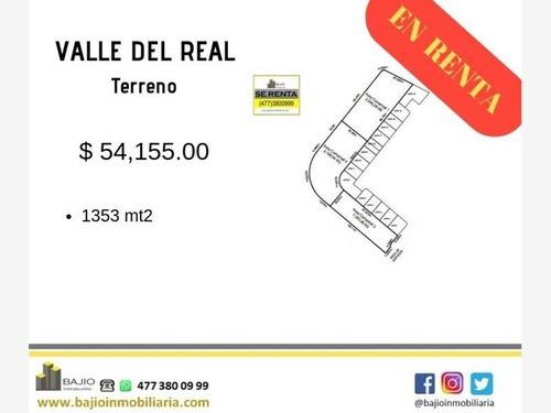 Terreno Comercial En Renta Valle Del Real