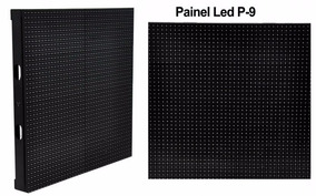 Panel Led Outdoor P-9 Smd 64pixels16 Placas57,6x57,6+control