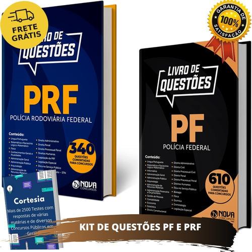 Kit Apostila De Questões Prf E Pf - Exercícios Comentados