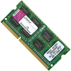 Memoria P/note 4gb Kingston Ddr3 1333mhz