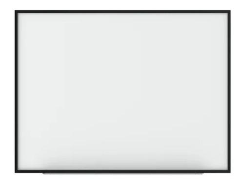 Imagen 1 de 2 de Pizarra Blanca Para Marcador Marco Metal 30x40