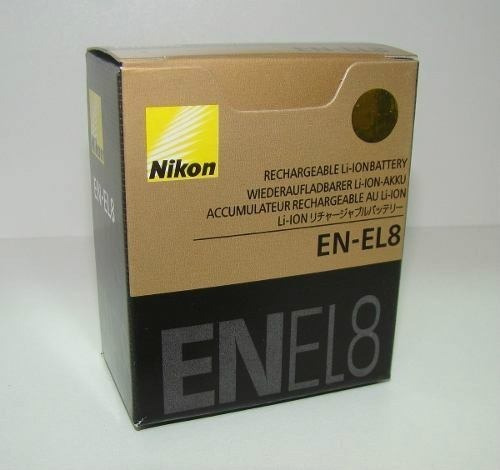 Kit 2 Baterias Nikon En-el8 - Frete Grátis