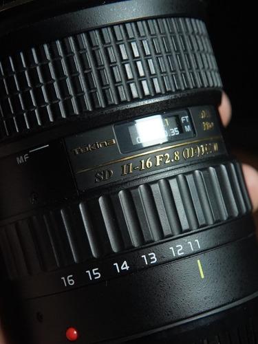 Lente Tokina 11-16 2.8 Ef Canon