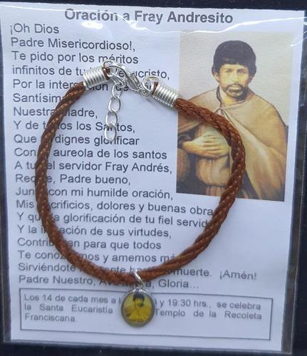 Imagen 1 de 1 de Pack 50 Pulsera De Fray Andresito, Cordón, Hecha A Mano.