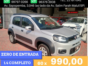 Fiat Uno 1.4 Way Flex 2015 Financiamento Sem Entrada