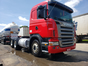 Scania Sc 124 380 Truck 6x2 Motor Novo