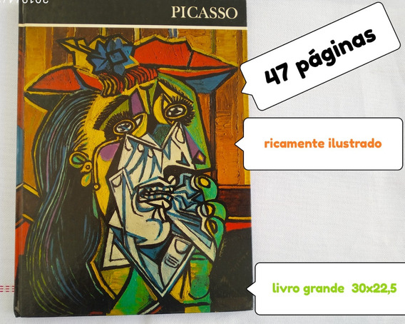Livro Usado Picasso Ricamente Ilustrado *** Treis Estrelas