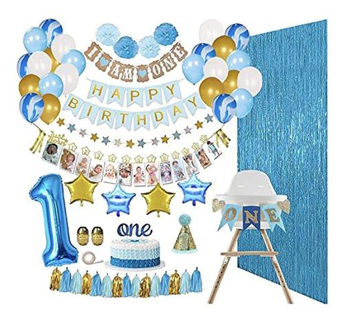 Kit De Decoración De Primer Cumpleaños Para Bebé