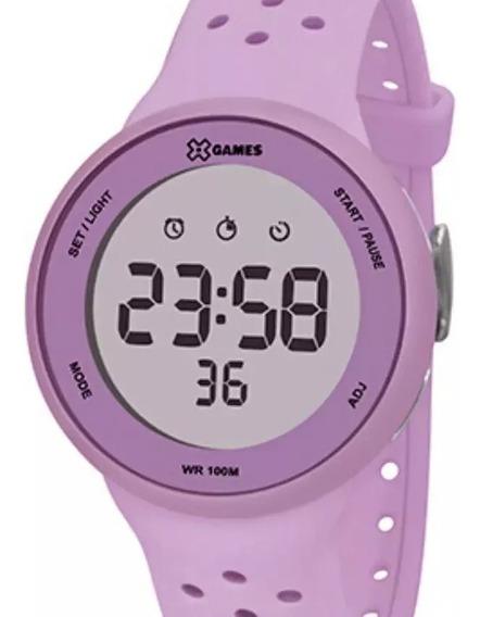 Relógio X-games Feminino Digital Rosa Xfppd076 Lxlx