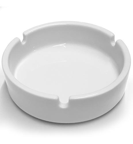 Imagen 1 de 3 de Ceniceros Porcelana X36 Unidades Amenities Hoteleros