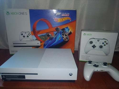 Xbox One S Y Joystick Y 5 Juegos Originales + Fornite Y Cod