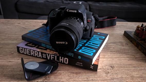 Câmera Canon T5i + Lente Kit 18-55 Mm
