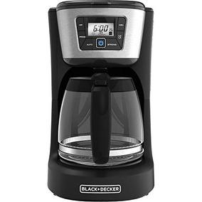 Cafetera Programable De 12 Tazas Black + Decker, Acero
