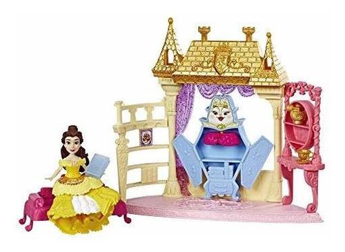 Imagen 1 de 8 de Princesas De Disney Belles Recamara Muñeca