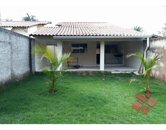 Casa Com 3 Quartos À Venda No Jardim De Todos Os Santos Em Senador Canedo/go - Ca0117