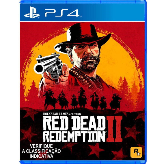 Red Dead Redemption 2 - Ps4 Lacrado