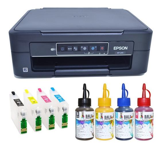 Impressora Ep Xp241 Cartucho Recarregável* Chave Desbloqueio