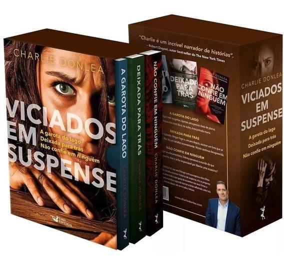 Box Viciados Em Suspense - 3 Livros