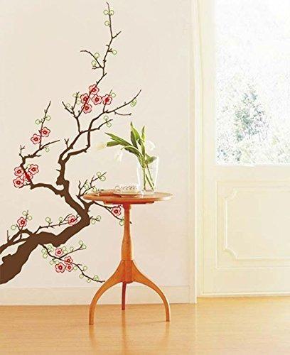 Imagen 1 de 1 de Pop Decors Pt-0151-vb Vinilo Decorativo Para Pared, Plum Blo