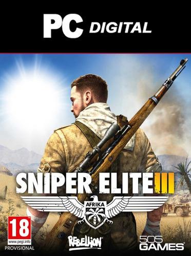 Sniper Elite 3 Pc Español / Edición Deluxe Digital