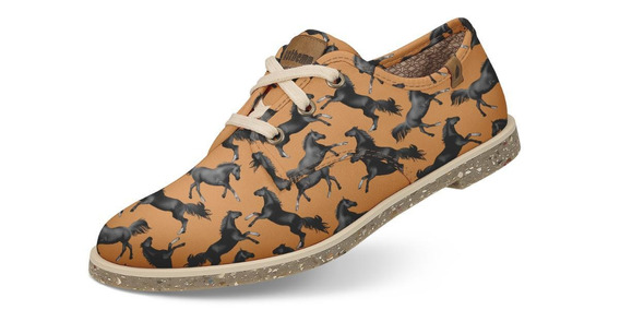 Sapato Usthemp Legend Casual Vegano Temático Cavalo
