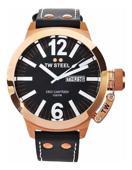 Reloj Tw Steel Ceo Canteen Negro Ce1022