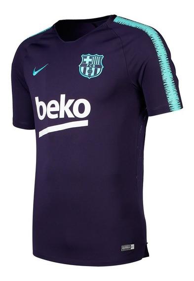 Camiseta Nike Barcelona Breathe Squad Original Entrenamiento
