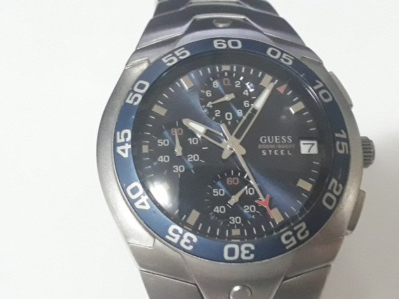 Relógio Guess Steel, 200 Metros. Original. Perfeito Estado.
