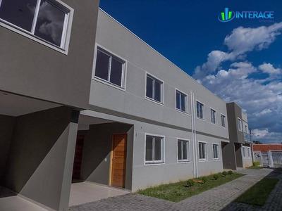 Sobrado Com 3 Dormitórios À Venda, 98 M² Por R$ 320.000 - Santa Felicidade - Curitiba/pr - So0041