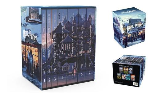 Livro Caixa Coleção Harry Potter - 7 Volumes - Box - Lacrado