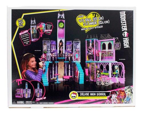 Monster High Escuela De Lujo De Mattel Muñeca Casa Juguete