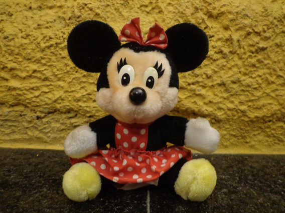 Antigo Brinquedo Boneca Mini Pelúcia - R 4828