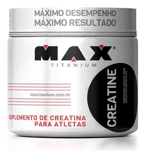 Creatina 300g - Max Titanium - Ganho De Força E Resistência