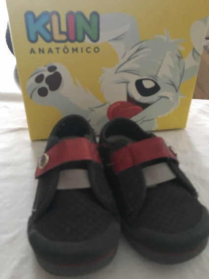 Sapato Infantil Meninos -klin Usado