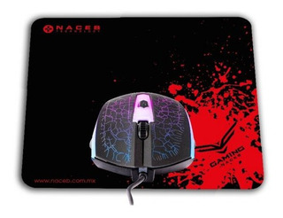 Naceb Na-592 Kit Mouse Y Mouse Pad Gamer