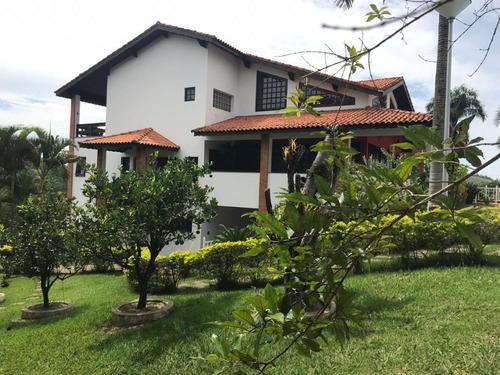 Chácara Em Condominio Com 5 Dormitórios À Venda, 4000 M² - Jacareí/sp - Ch0007