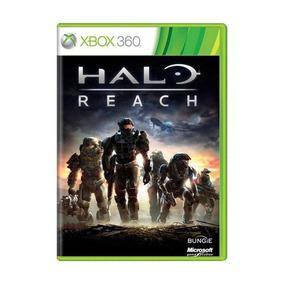 Halo Reach Xbox 360 Original Novo Lacrado