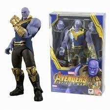 Boneco Thanos Bandai - Vingadores Guerra Infinita - Marvel
